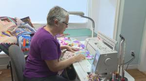 'They are really under stress': Okanagan quilters lift spirits of parents with babies in the neonatal intensive care unit.