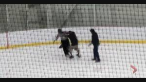 Video shows brawl with referee at Lethbridge hockey tournament