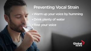 Health Matters: Why the COVID-19 pandemic could be affecting your voice (02:38)