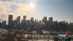 Calgary's cold snap forecasted to end by Monday