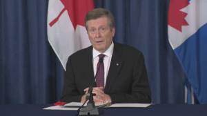 Toronto mayor says city mourning the death of 12-year-old boy killed following shooting (01:06)
