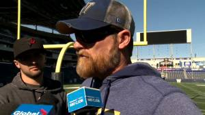 RAW: Blue Bombers Mike O'Shea Media Briefing – Oct. 8