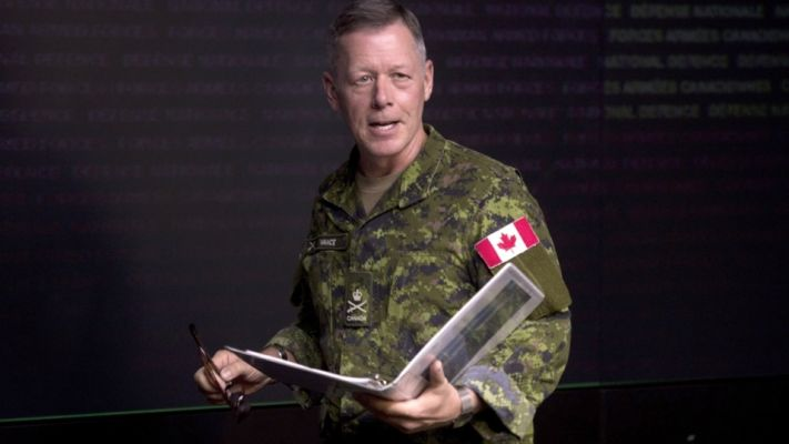 Click to play video: 'Gen. Jonathan Vance charged with obstruction of justice'