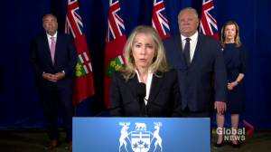 Coronavirus outbreak: Ontario long-term care minister elaborates on new visitation guidelines