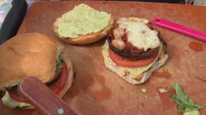 BBQ Tips: Sausage stuffed portobello mushroom burgers (05:27)