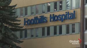 COVID-19 Delta variant spreads inside Calgary's Foothills Medical Centre (01:41)