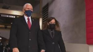 Biden inauguration: VP Mike Pence and Second Lady arrive at Capitol Hill (02:03)