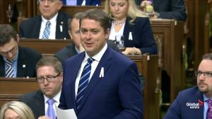 Trudeau and Scheer debate Canada's natural resource investments