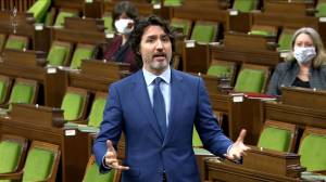 Trudeau laments 'incoherent' position of Conservatives when it comes to federal spending (02:34)
