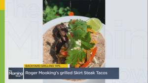 Chef Roger Mooking on how to grill steak tacos this summer (06:55)