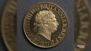 Rare British coin sells for CA$1.7 million
