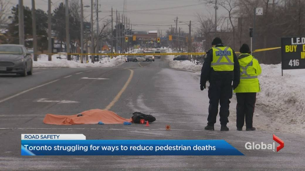 Pedestrian dead, another critically injured after being hit in 2 separate incidents in Toronto