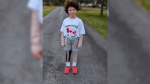 Newfoundland boy dresses as Terry Fox for Halloween to raise money