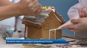 George Brown College's award winning Gingerbread Houses
