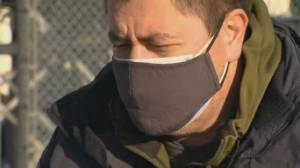 Calls grow to double-up face masks as new COVID-19 variants spread (02:53)