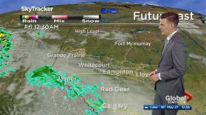 Edmonton afternoon weather forecast: Wednesday, May 27, 2020