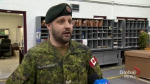Thousands of cards, letters being dispersed to Canadians serving overseas (02:11)