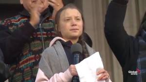 'Change is coming whether you like it or not', Greta Thunberg warns world leaders over climate change inaction