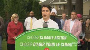 Federal Election 2019: Trudeau says his government will launch national flood insurance program, new EI benefit