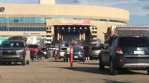 Brett Kissel serenades packed SaskTel Centre parking lot — three times