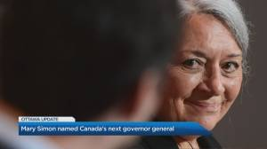 Trudeau appoints Canada's first Indigenous governor general (05:19)