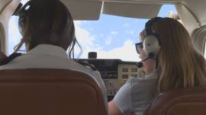 Vernon teen can fly before she can drive