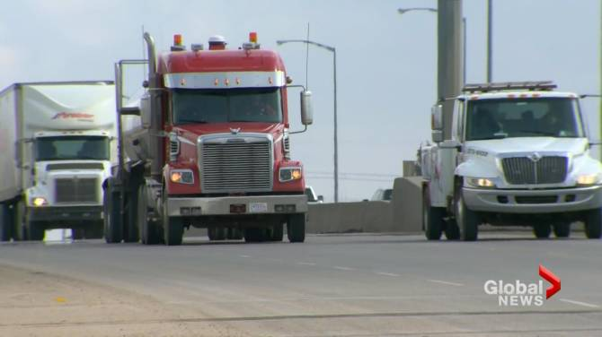 Click to play video: North Battleford, Sask. hotel helps out trucking industry