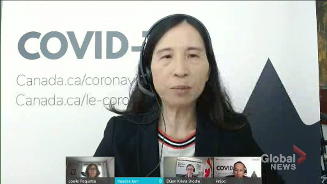 Click to play video: 'COVID-19: Tam says Delta variant cases in Canada have increased four-fold since late April'