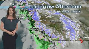 B.C. evening weather forecast: Feb 24