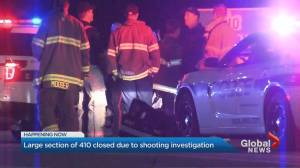 Highway 410 closed after shooting investigation