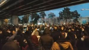 Angry protesters storm streets in Iran over Flight 752