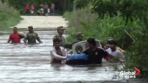 Tropical storm Cristobal brings heavy flooding in Mexico