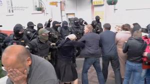 Belarus protests: Police shove, pepper spray, and arrest protesters during anti-government demonstrations