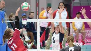Canadian Paralympic sitting volleyball team aiming for podium at Tokyo Games (01:58)