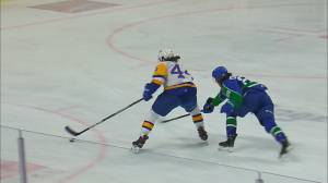 Chase Wouters plays final game with the Saskatoon Blades (01:56)