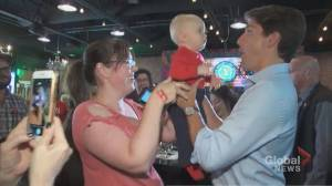 Federal Election 2019: Trudeau greets supporters at Barrie craft brewery