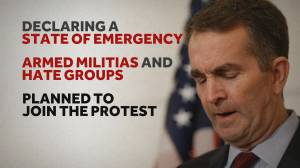 Virginia on edge after governor declares state of emergency ahead of gun rights rally