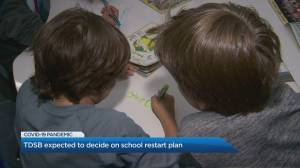 TDSB expected to decide on school restart plan