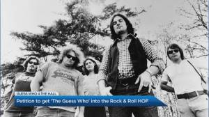 Petition to get 'The Guess Who' into Rock & Rock Hall of Fame (04:07)