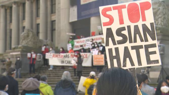 Click to play video: New survey finds dramatic increase in anti-Asian racism since pandemic began