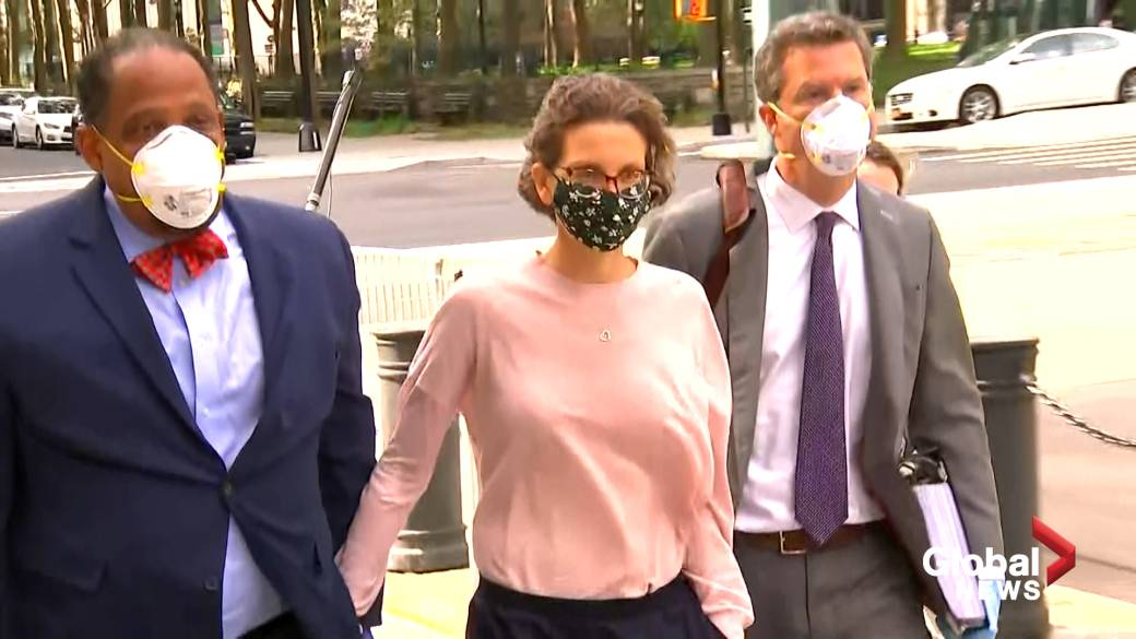 Click to play video 'Clare Bronfman sentenced to prison in branded NXIVM sex slave case'