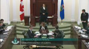 Alberta MLAs address suicide outside legislature: 'Please reach out'