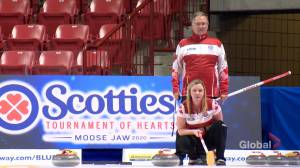 Team Canada's Chelsea Carey looks to repeat Scotties win with dad by her side