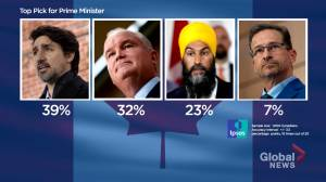 If Canadian federal election were held tomorrow, Liberals and Conservatives would tie: Ipsos poll (04:12)