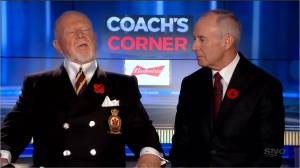 Don Cherry out at Hockey Night in Canada following controversial poppy comments