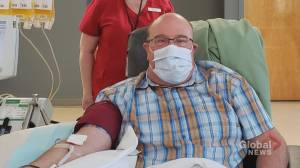 N.B. man is first in Atlantic Canada to donate convalescent plasma