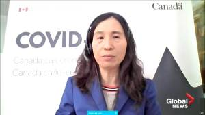 Tam says Canada is well past its third COVID-19 peak (01:18)