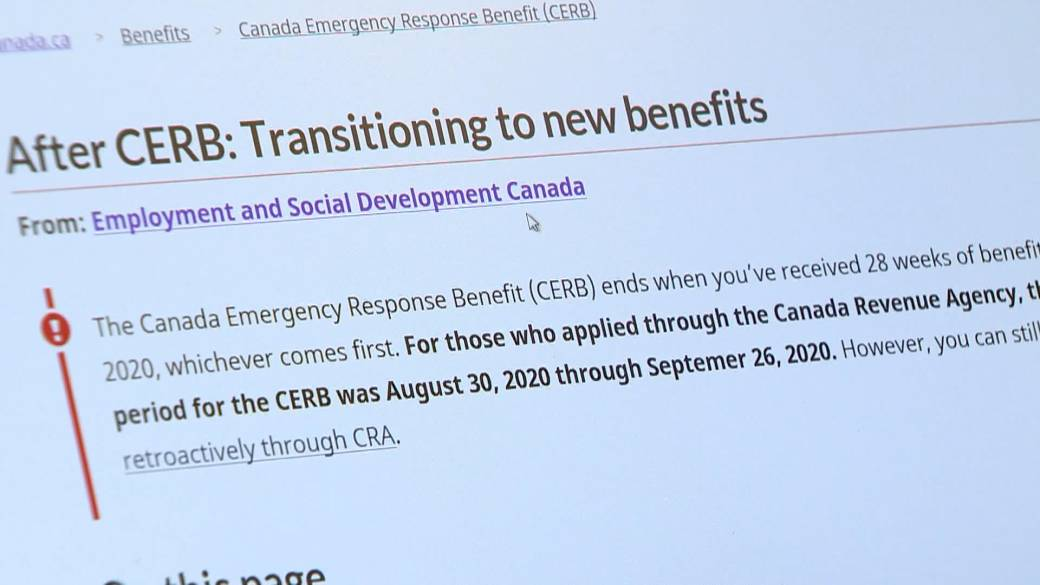 Click to play video 'Federal data gives most detailed picture yet of where CERB went in Saskatoon and Regina'