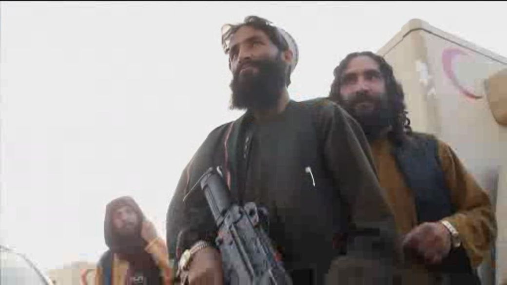Click to play video: 'Taliban advancing across Afghanistan at lightning speed'