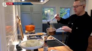 RGE RD restaurant's rich and hearty Thanksgiving gravy recipe (06:16)